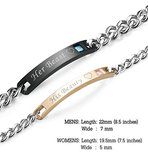 a019043d2e LOLIAS Stainless Steel Couples Bracelets | Thatsweetgift
