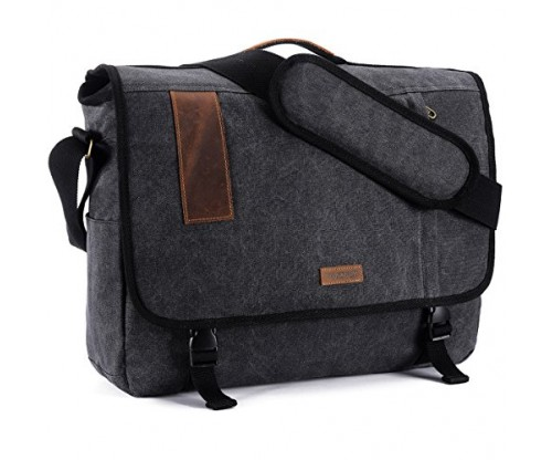 Vintage Canvas Shoulder Bag For Men by VONXURY