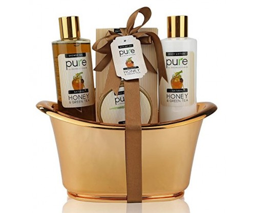 Honey & Green Tea Exclusive Spa Gift Basket
