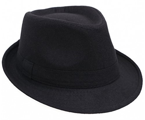 Men / Women's Classic Short Brim Manhattan Fedora Hat