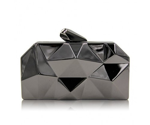 Milisente Fashion Geometic Evening Clutch