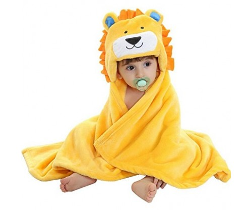 BabyIn Hooded Bath Towel