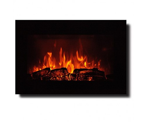 Homeleader 35″ Electric Fireplace Heater
