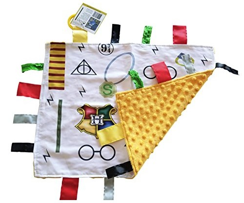 Lovey Wizard Baby Tag Blanket