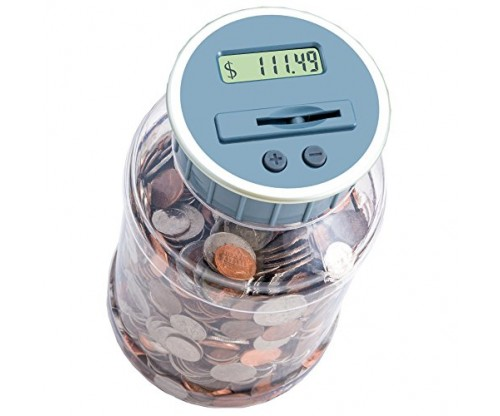 M&R Digital Counting Coin Bank.