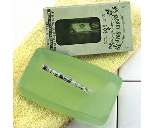 Money Soap – It Cleans! It Brings Wealth!