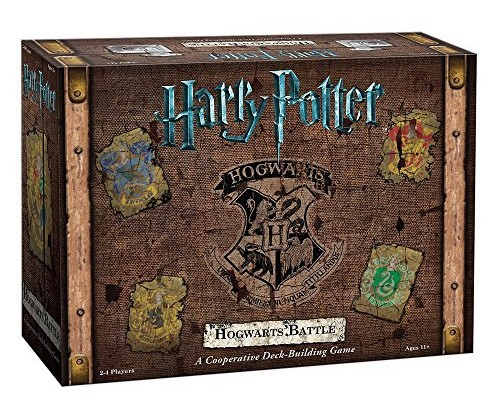 Harry Potter Hogwarts Battle: A Cooperative Deck Building Game