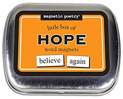 Magnetic Poetry Little Box Of Hope Kit Magnets Thatsweetgift