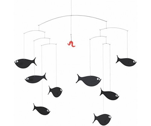Shoal Of Fish Hanging Mobile