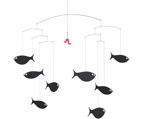 Shoal Of Fish Hanging Mobile