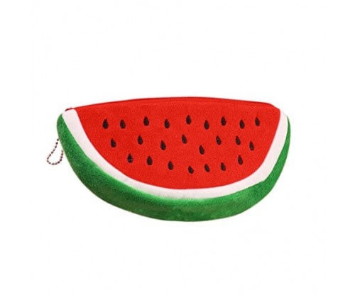 HYJM Creative Fruit Lovely Cartoon Watermelon Coin Purse