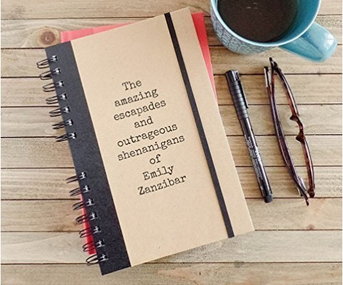 Personalized Journal Amazing Escapades