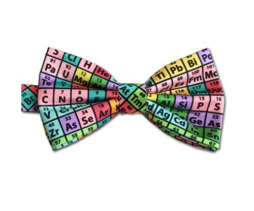 Periodic Table of Elements Chemistry Bow Tie
