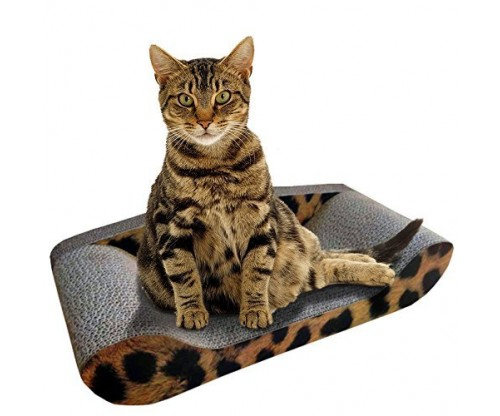 Kitty Sofa Deluxe – The Best Modern Corrugated Cardboard Cat Scratcher