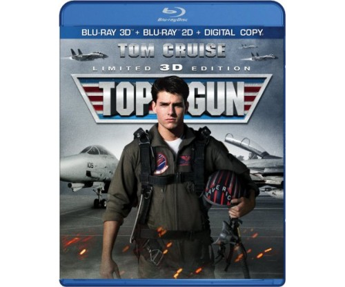 Top Gun DVD & UV Digital Copy Included 3D