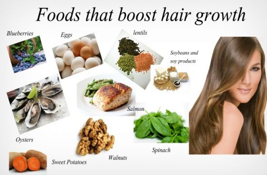 foods to grow your hair