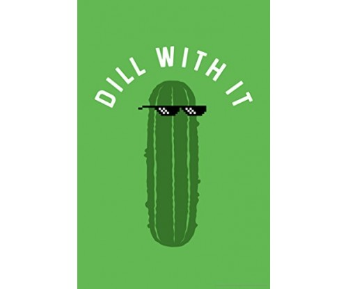 Poster Foundry Dill With It Pickle Funny Poster