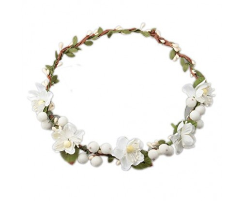 Love Sweety Flower Berries Crown Headband