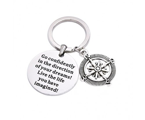 'Go Confidently In The Direction Of Your Dreams' Necklace