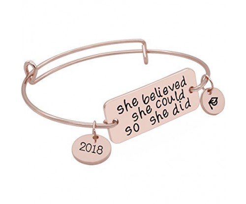 Gold Bracelet Jewelry Graduation Gifts – YouMiYa