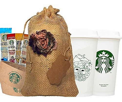 Starbucks Travel Coffee: Reusable Recyclable Cups With Lids