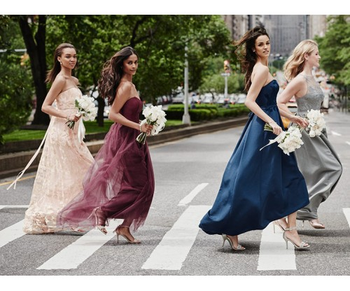 These Are Rules to Follow When Choosing Bridesmaid Dresses