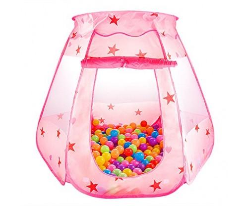 CASA MALL Kids Princess Play Tent (Foldable)