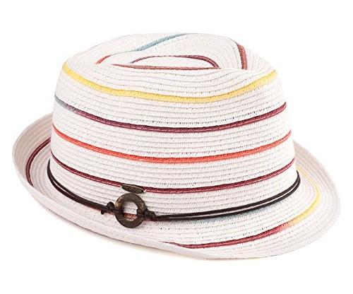 Funky Junque Short Brim Fedora Hat