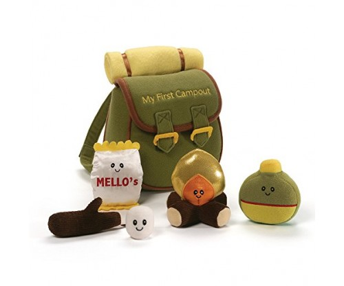 Baby GUND My First Campout Stuffed Plush Playset