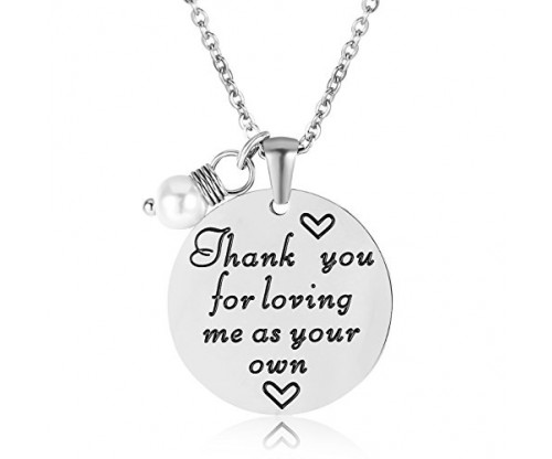 ELOI Thank You Necklace For Stepmom