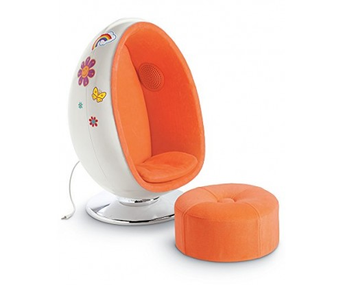 American Girl Julie's Egg Chair Set