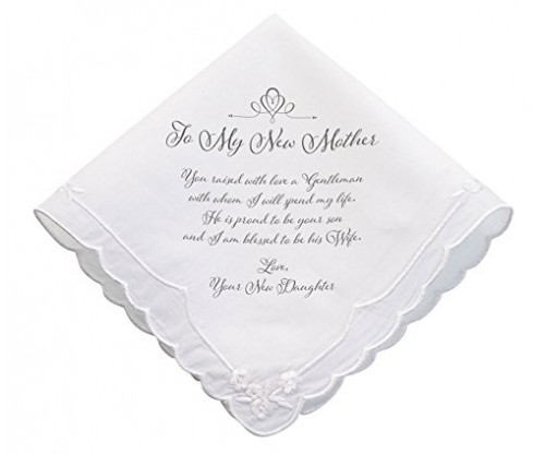 Lillian Rose New Mother Wedding Gift Hankie