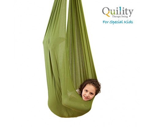 Quility Indoor Therapy Swing for Kids