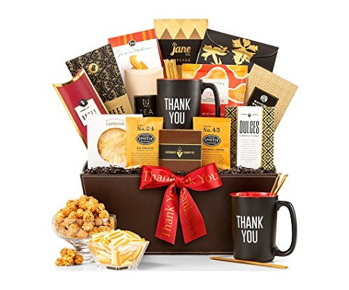 Gift Tree Deluxe Thank You Basket