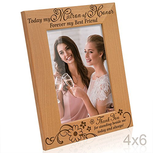Kate Posh Today My Matron Of Honor Photo Frame Thatsweetgift