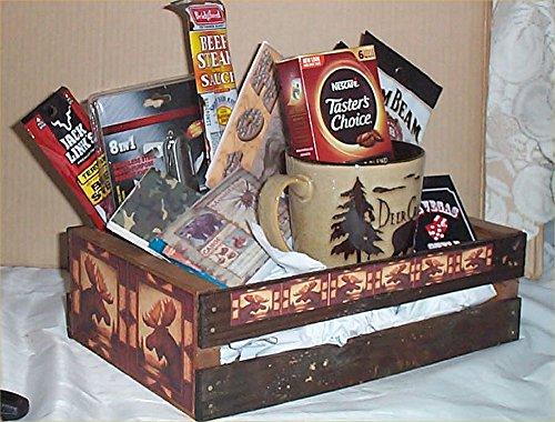Moose Hunters Wood Crate Mens Gift Set Thatsweetgift