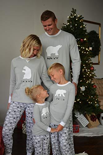 Sleepyheads Holiday Family Matching Polar Bear Pajamas  b8ed74c65
