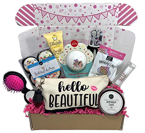 Complete Birthday Gift Basket Box For Women