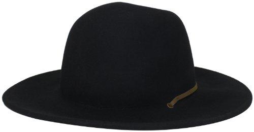 ea1b16685 Brixton Men's Tiller Wide Brim Felt Fedora Hat   ThatSweetGift
