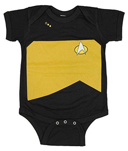 Star Trek Next Generation TV United Federation Logo Infant Romper Snapsuit