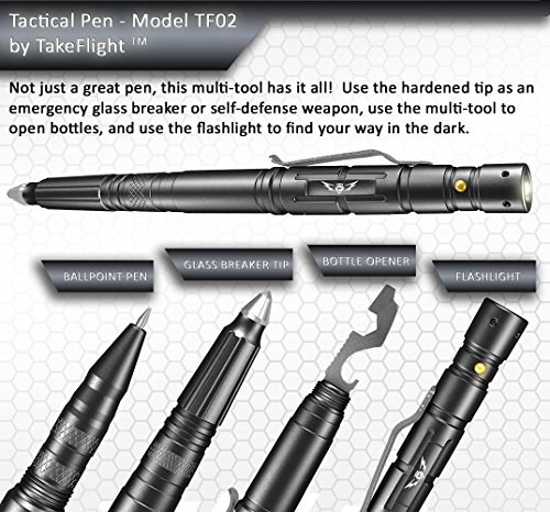 Creative Self Protection Multi-function Tactical Pen Glass Breaker Refill Tool