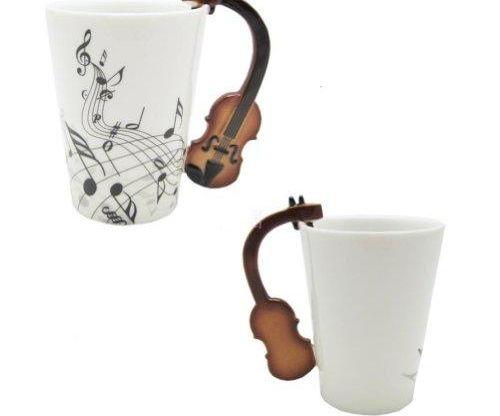Violin Notes Mug