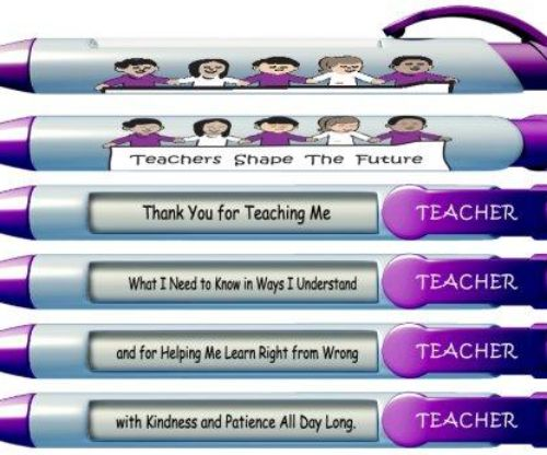 Teachers Shape The Future Pens