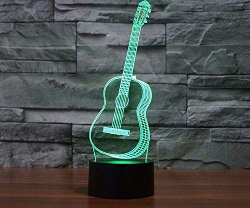 LED Night Light Guitar