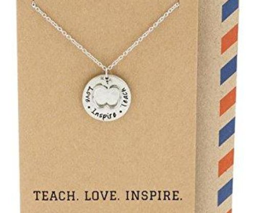 Teach. Love. Inspire Pendant Gift Envelope