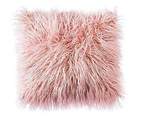 Decorative Faux Fur Pillow Cover