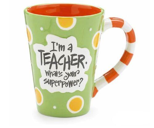 I'm A Teacher, What's Your Super Power? Mug