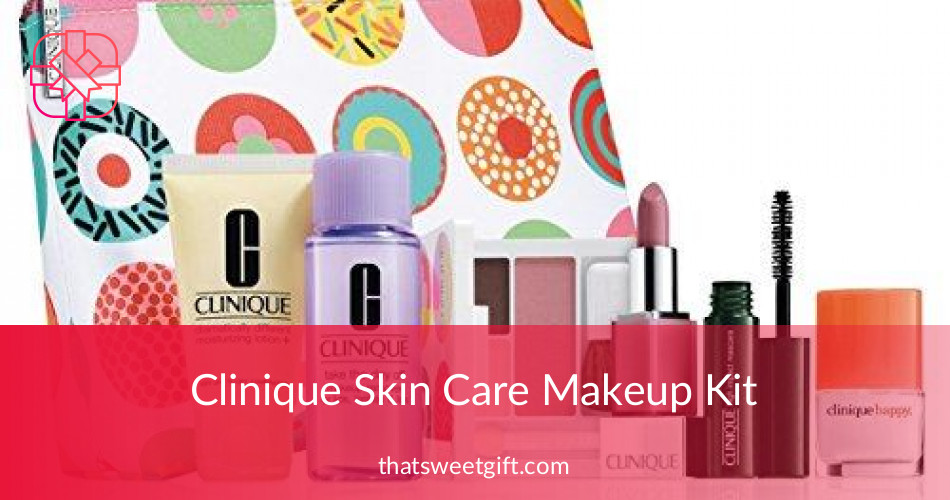Clinique Skin Care Makeup Kit With All The Essentials | ThatSweetGift