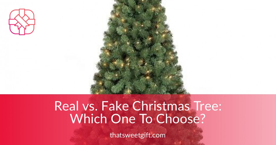 fake christmas tree whic one is environment friendly