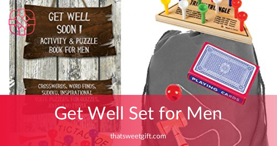 get well gifts for men get well soon activity set thatsweetgift